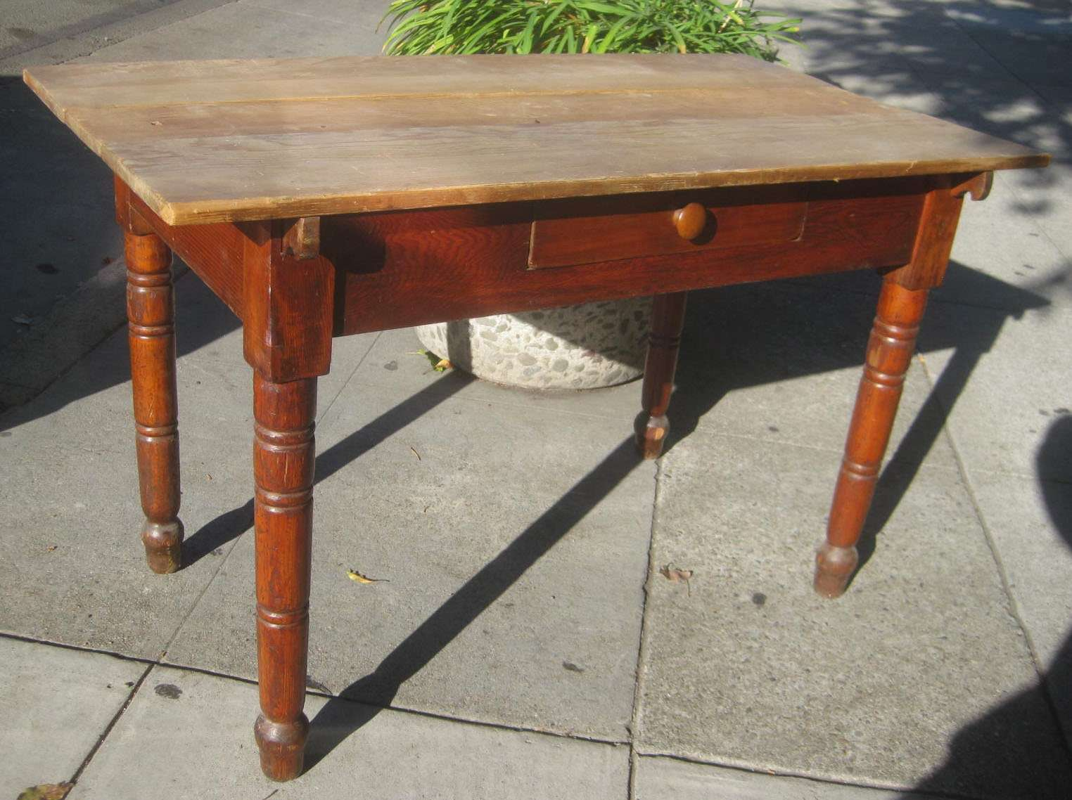 Uhuru Furniture Collectibles Sold Antique Library Table