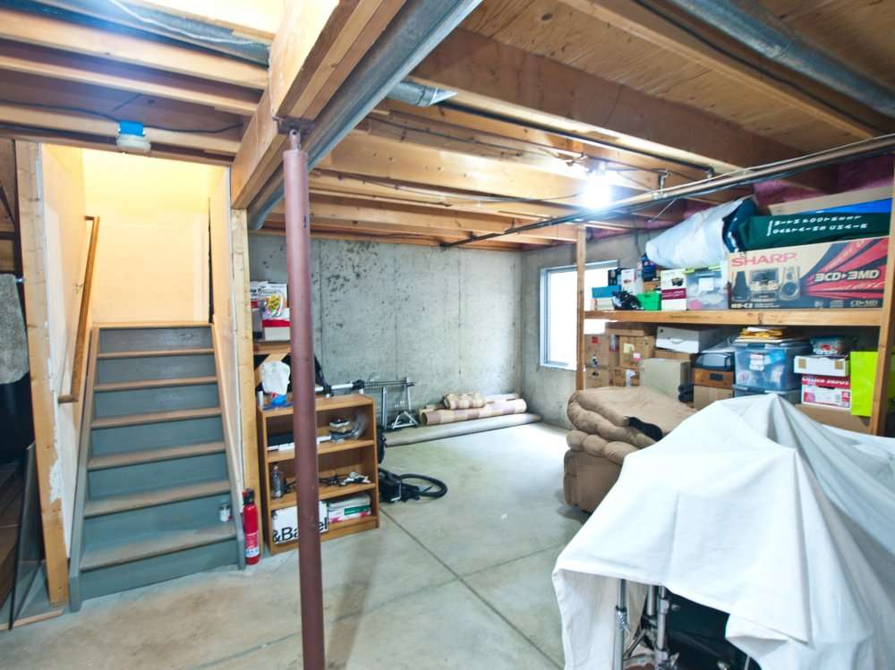 Unfinished Basements Make Great Storage Areas