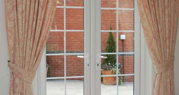 Window Treatments French Doors Home Design Ideas