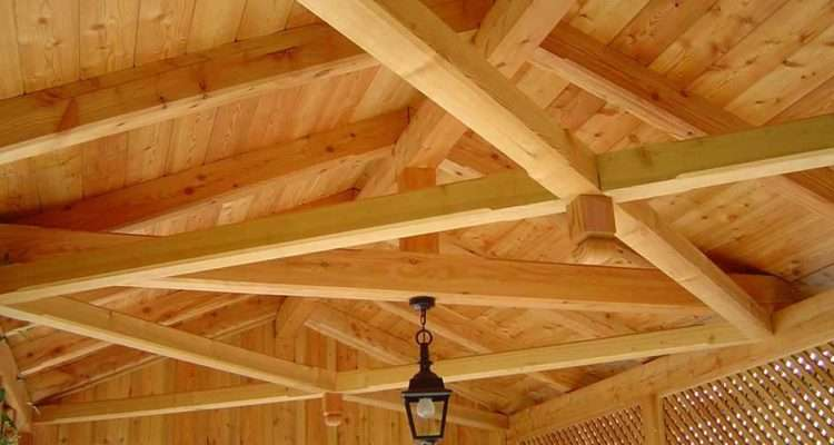 Zebau Carpentry Exposed Roof Rafters Austria